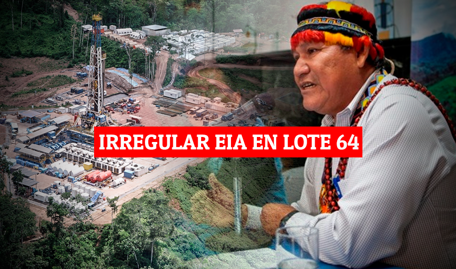 Lote 64: Nación Wampis alerta irregularidad en el estudio de impacto ambiental de Geopark
