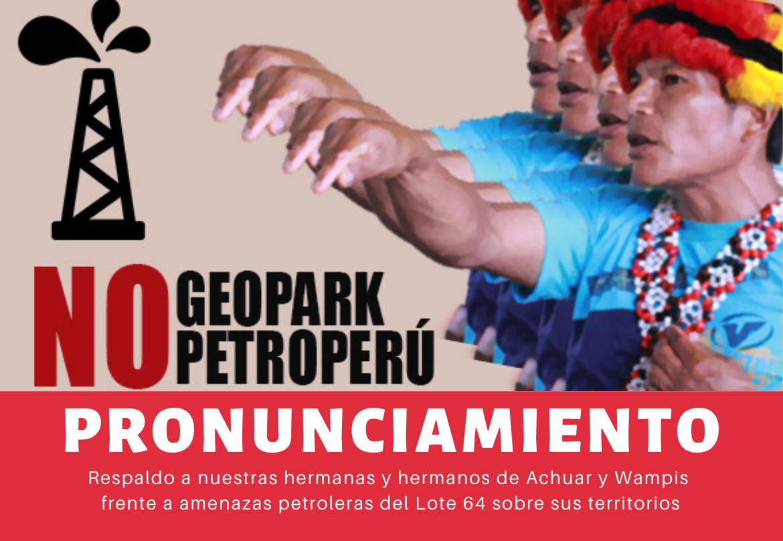 PRONUNCIAMIENTO: Federaciones de Pastaza apoyan y respaldan a FENAP Y GTANW