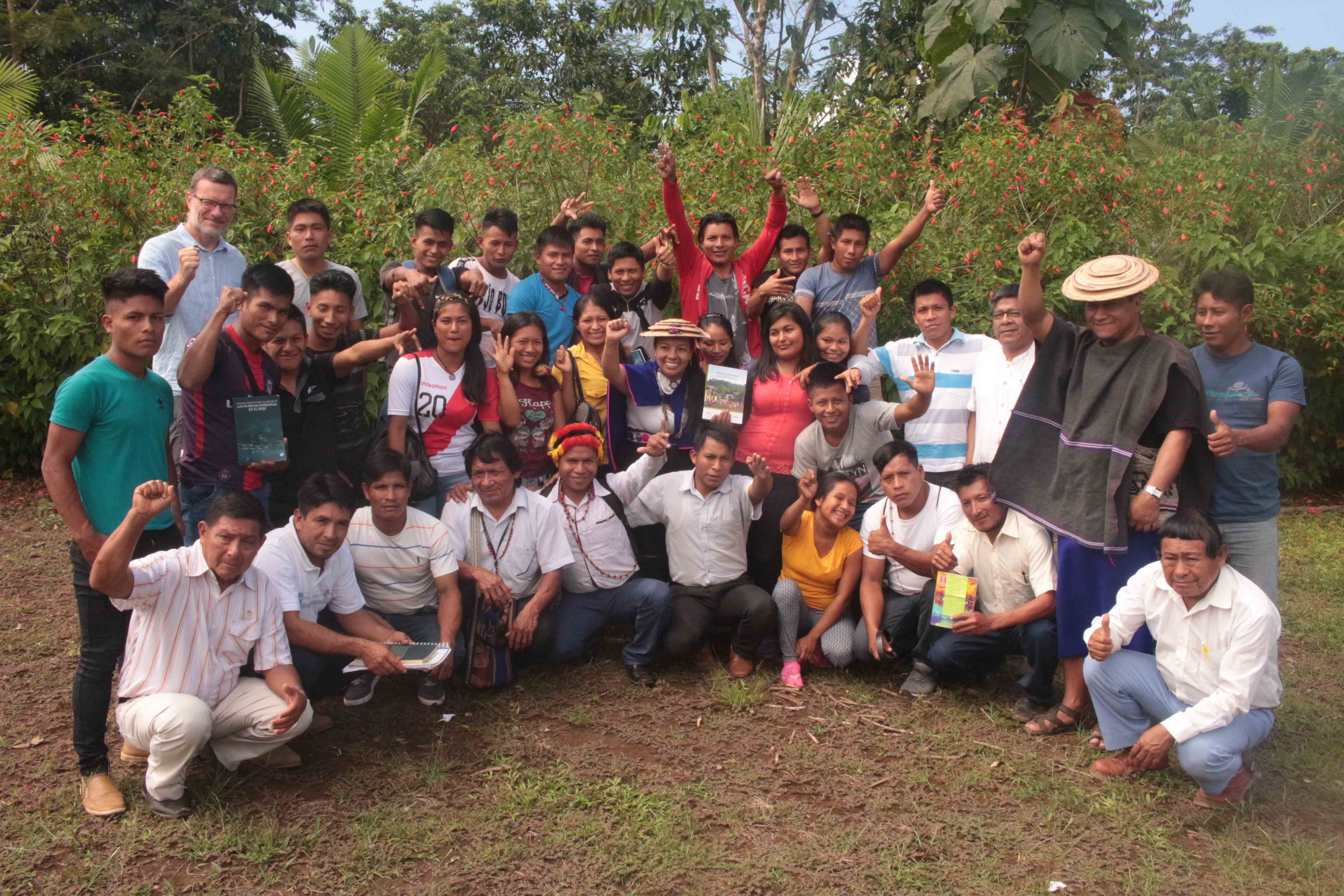 Escuela Sharian: Jóvenes Wampis camino a ser futuros líderes