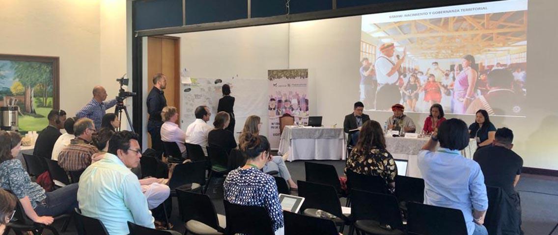 GTANW debatió sobre el derecho a la Consulta y Consentimiento Previos durante evento en Colombia